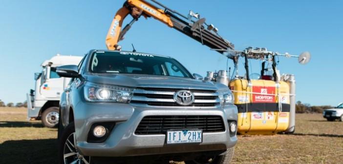 Toyota Hilux'tan dünya turuna destek