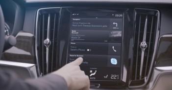 Skype for Business in car app