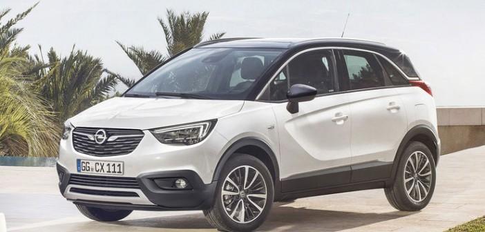 Opel X ailesine kardeş geldi