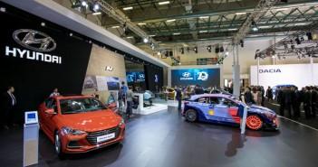 Otomobilport.com.tr.Autoshow.Hyundai Elantra Sport ve i20 WRC.1