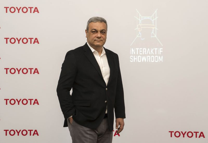 Otomobilport.com.tr.Toyota Türkiye Paz. Sat. A.Ş.CEO'su Ali Haydar Bozkurt.interaktif