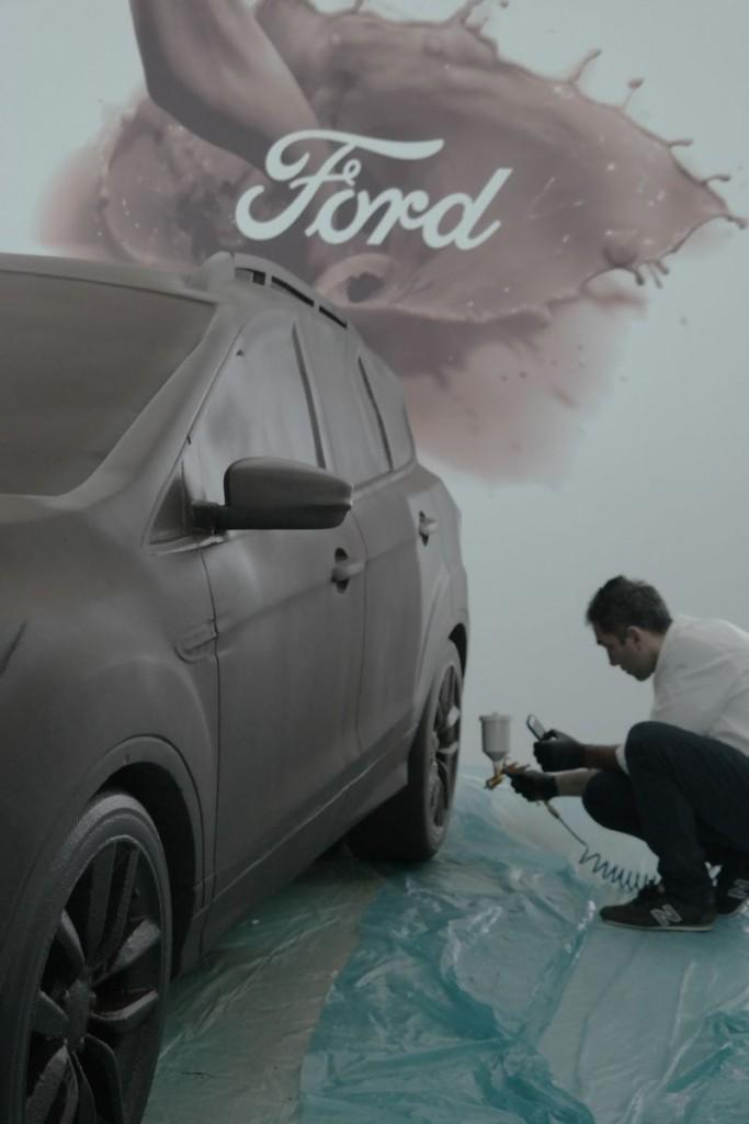 Otomobilport.com.tr.Ford.Kuga.Heykel.cikolata.3