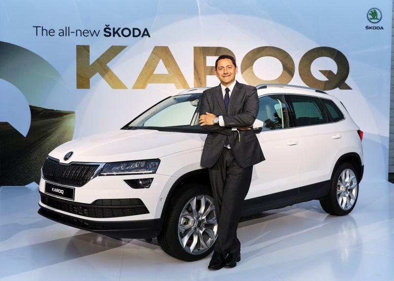 Otomobilport.com.tr.Yüce Auto Skoda Genel Müdürü Tolga Senyücel.Karoq