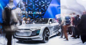 Geleceğin Audi modelleri fuarda