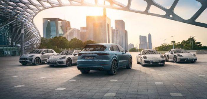 Çinliler Porsche'yi uçurdu