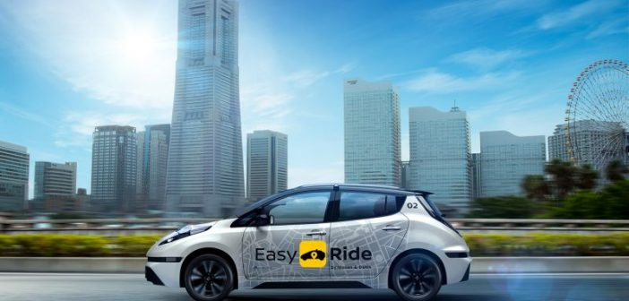 Nissan robot taksi 2020'de